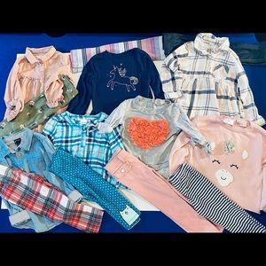 Little Lass Matching Sets - Fabulous Fall Bundle Size 2-3 Brand-Little Lass,